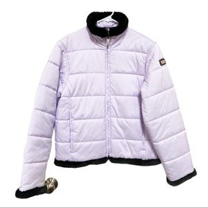 Spyder Womens Fur Lined Quilted Snow Jacket Size 6